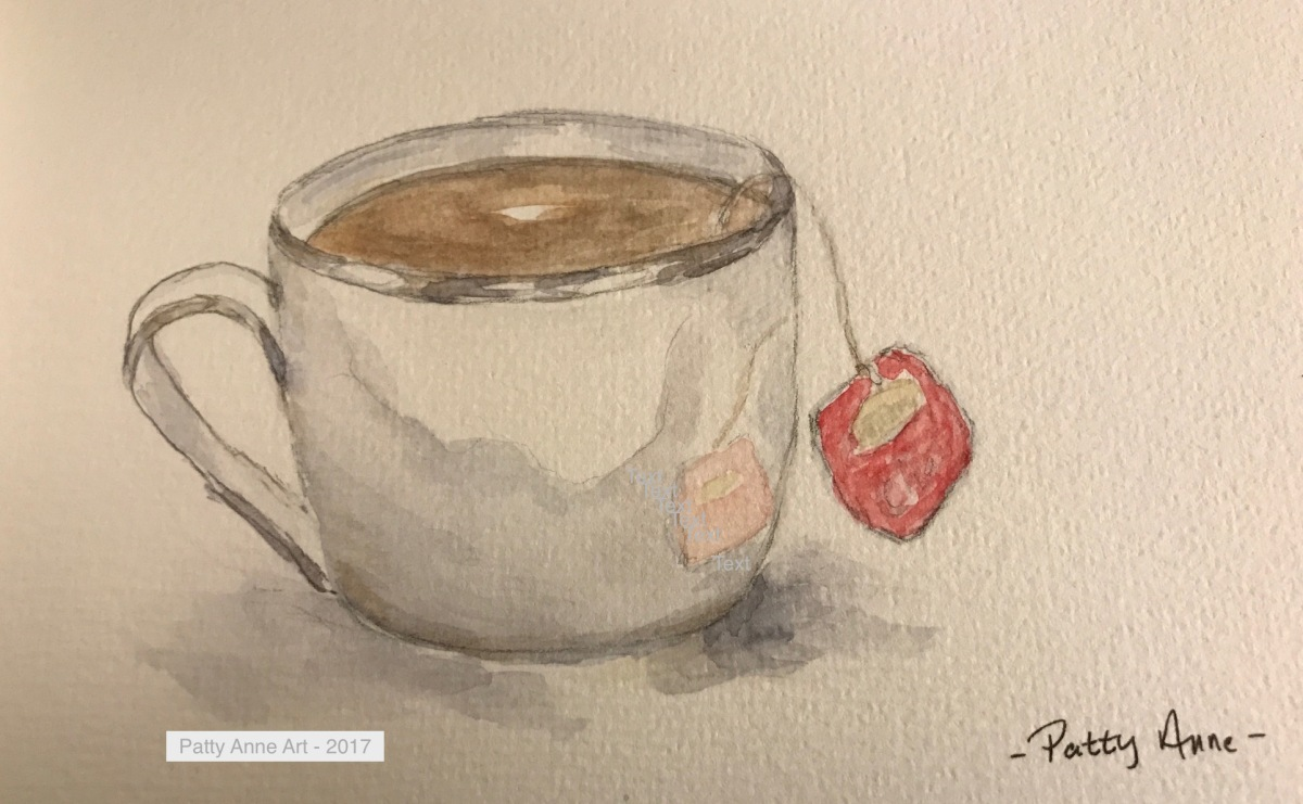 Tea Time & Watercolor Tips