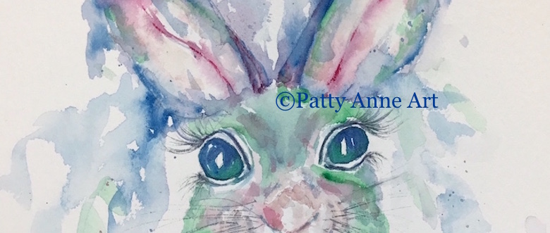 Sketching and Painting Bunny