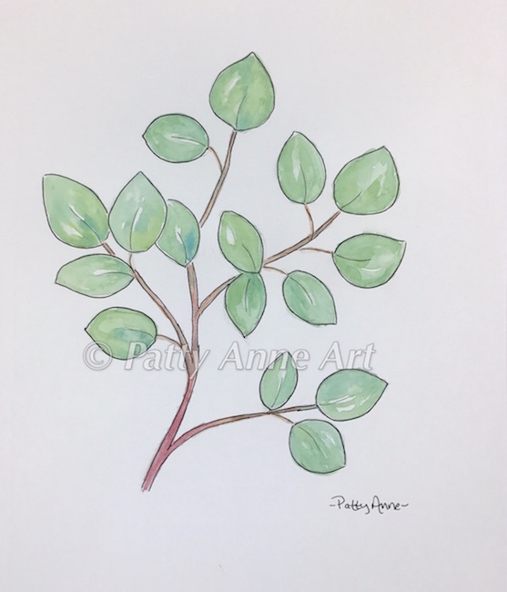 Simple Branch with leaves