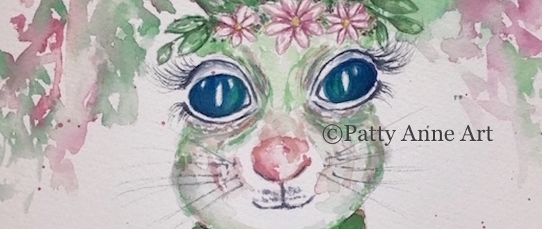 Quiet Thursday – Bunny Watercolor