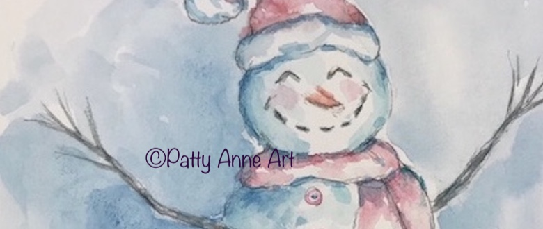 Painting a Snowman