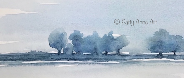 Simple Watercolor Landscapes