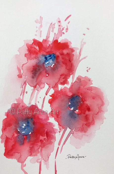 Red Poppies - 1