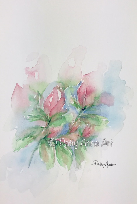 Rose buds