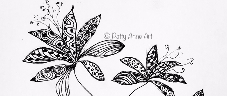 Thursday Ink – Flower Doodle