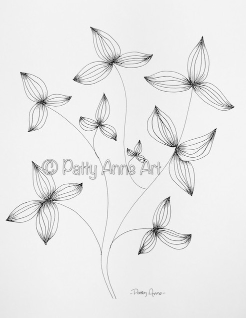 Pinwheel leaves
