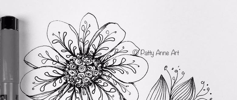 Thursday Daisy – doodle on