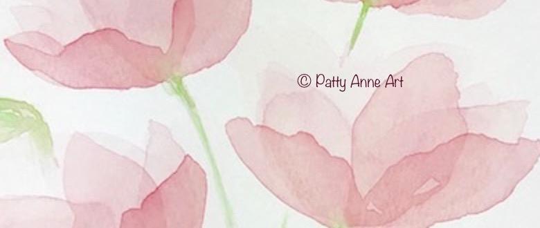 Transparent Watercolor Petals