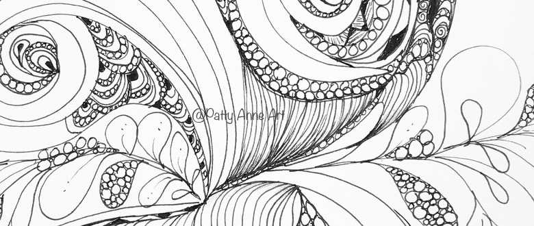 Thursday  – Doodle Swirls