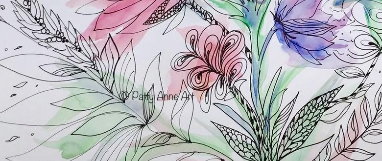 Summer Bliss doodle