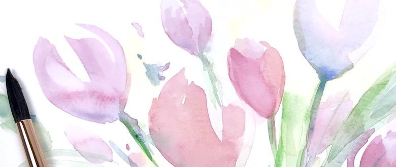 Spring tulips and painting decisions