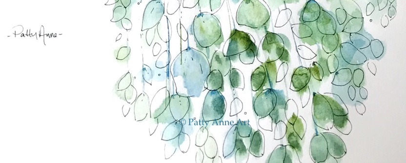 Floating away with blue andgreen