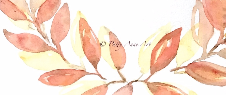 Painting a FallWreath