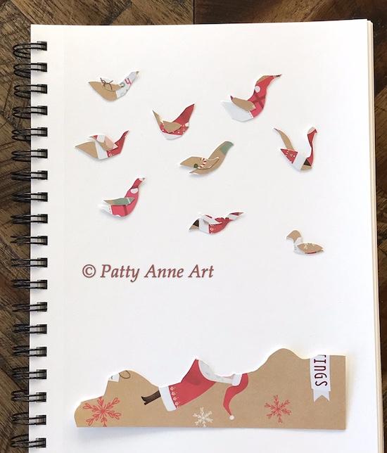 paper birdie shapes