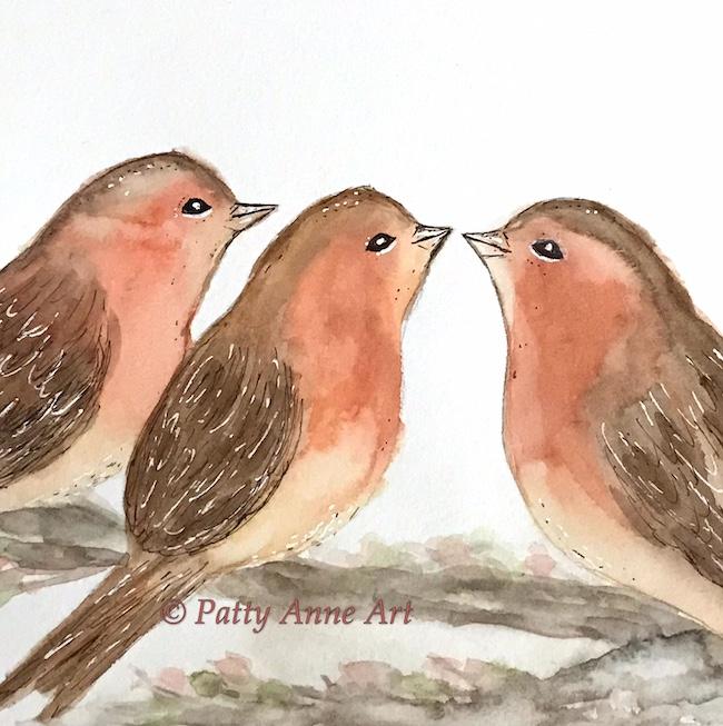 sweet little birds - stage 2